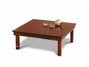 Корейский стол 800*800 красное дерево RED 810