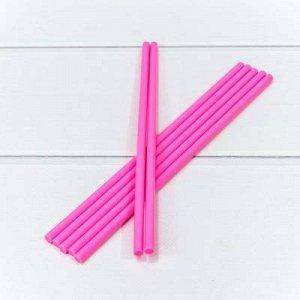 """Клей """"Термопластичный"""" (палочка) Розовый 0,7см*25см"""