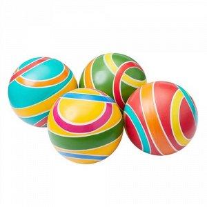 Мяч  д. 100 мм Классика (ручное окрашивание)