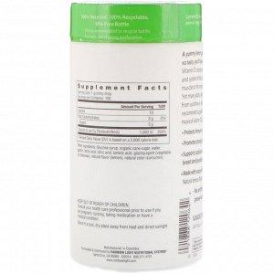 Rainbow Light, Витамин D3, солнечные жевательные таблетки с лимонным вкусом, 1,000 МЕ, 100 жевательных таблеток