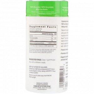Rainbow Light, Витамин D3, солнечные жевательные таблетки с лимонным вкусом, 1 000 МЕ, 50 жевательных таблеток