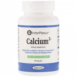 InterPlexus, Calcium2, 90 капсул