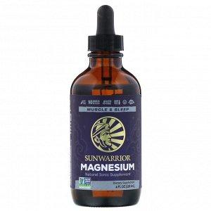 Sunwarrior, Magnesium, 4 fl oz (118 ml)