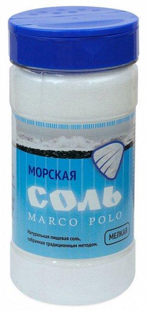 Соль морская мелкая Марко Поло, ПЭТ- солонка 500 гр.