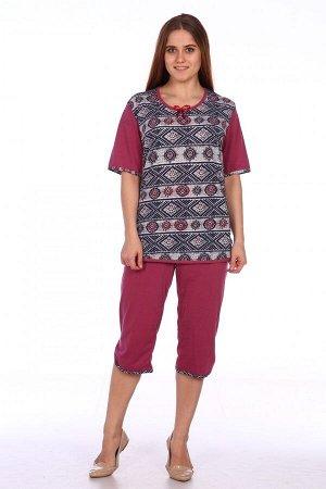 Пижама Ткань: Кулирка; Состав: 100% хлопок; Размеры: 48, 50, 52, 54, 56, 58