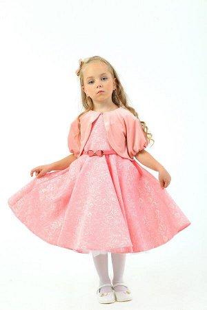 Платье Артикул: СС-ПЛ-18214; Цвет: Синий Скачать таблицу размеров                                                 Нарядное платье из фактурного жакарда. Юбочка в складку имеет подъюбник из плотного ф