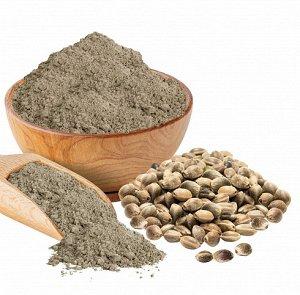 * 200 гр В семенах конопли, которые и пускаются на производство муки, белки, жиры и углеводы присутствуют примерно в равных пропорциях. Продукт является источником сразу двух видов клетчатки – раствор