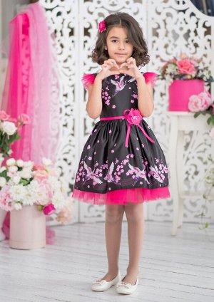 Айсель нарядное платье черный