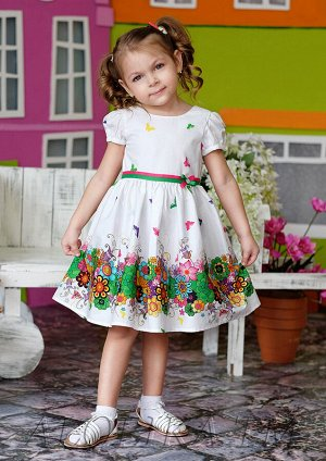Есения платье хлопковое белый