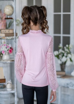 Илария блузка трикотажная розовый