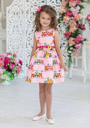 Совунья нарядное платье розовый