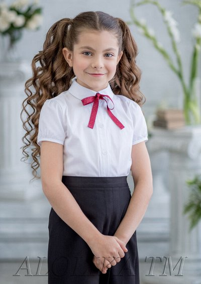 Одежда в школу для мальчиков! — Блузки белые — Одежда для девочек