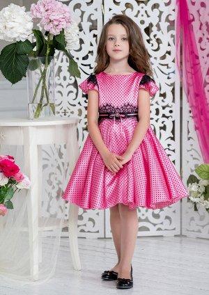 Жюли нарядное платье розовый