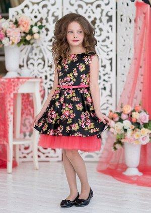 Миранда нарядное платье черный