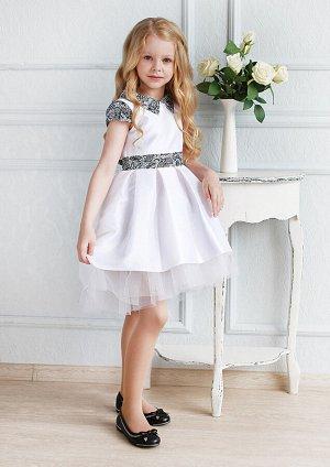 Элизабет нарядное платье белый