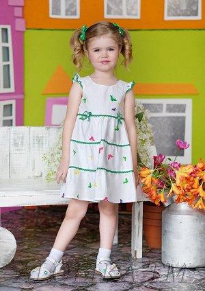 Агнеша платье хлопковое белый