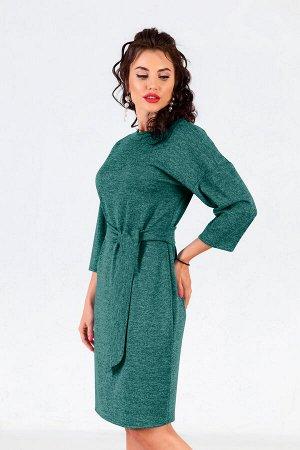 Платье История Нежности (зеленое) П1012-8
