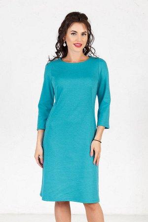 Платье Милан (василек) П996-11