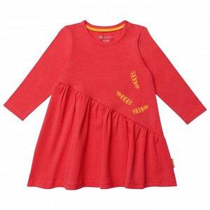 Платье для девочки, красный