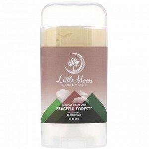 Little Moon Essentials, Peaceful Forest, Restoring Deodorant, 2.5 oz (72 g)