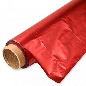 Полисилк метал красный-красный 1мх20м