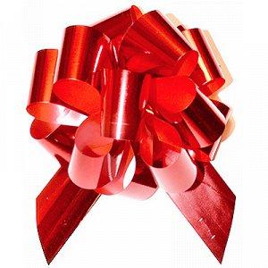 Бант шар металлик Красный 5см