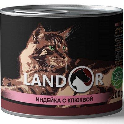(2040) Все необходимое для любимых питомцев. Акция! — Корма Landor влажные для кошек — Аксессуары