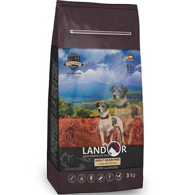 (2040) Все необходимое для любимых питомцев. Акция! — Корма Landor сухие для собак — Аксессуары