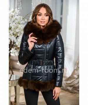 Зимняя куртка с мехомАртикул: NS-5982-2-70-CH-P