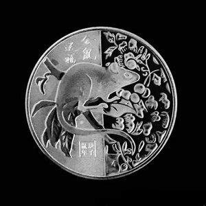 Китайская монета «Мышь»