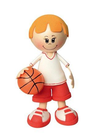 "Набор для творчества Создай куклу ""Баскетболист к002"""
