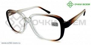 Корригирующие очки Восток Без покрытия 0868 Коричневый