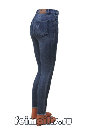 Зауженные синие джинсы A334-2C рр 27(44)