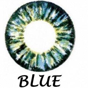Перекрывающие цветные контактные линзы HERA Color Glamour Dioptr (2 линзы)