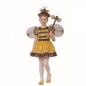 Карнавальный костюм «Пчелка», текстиль, размер 26