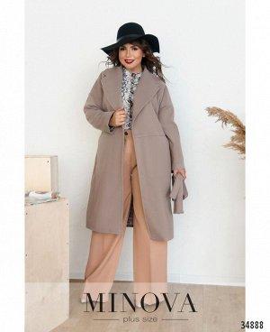 Пальто №135Б-визон