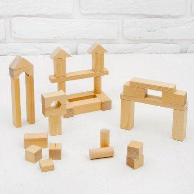 Море игрушек для детей🦊 Бизиборды, игровые наборы, роботы👾   — Деревянный конструктор — Игрушки и игры