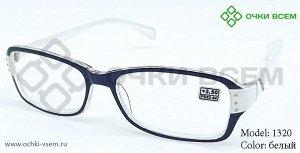 Корригирующие очки Восток Без покрытия 1320 Белый