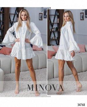 Платье №1315Н-белый