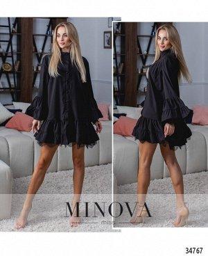 Платье №1315Н-черный
