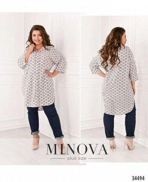 Рубашка №05-1-белый