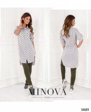 Рубашка №05-1Н-белый
