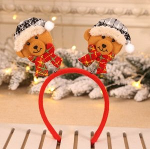 Ободок Ободки новогодние помогут сделать праздник ярким и незабываемым, надев ободок на голову, можно и без дополнительных костюмов перевоплотится в сказочного персонажа.