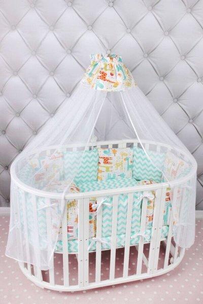 Новое поступление! Простыни на резинке! Поплин! — Текстиль для новорожденных — Постельное белье