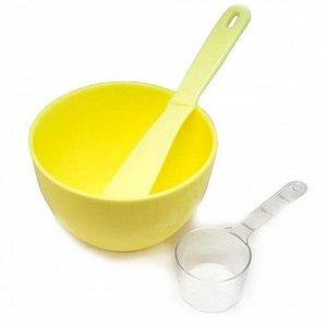 Набор для альгинатных масок (миска, шпатель, мерная ложка)