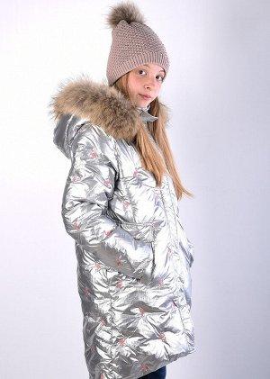 19216 Пальто для девочки Anernuo