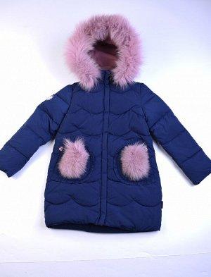 5313B Пальто для девочки