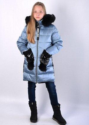 19177-S Пальто для девочки Anernuo