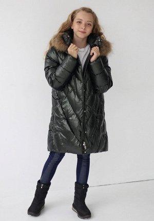 19183 Пальто для девочки Anernuo