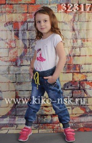 32317 Джинсы для девочки YUKE
